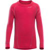 Devold Duo Active Junior Shirt Raspberry